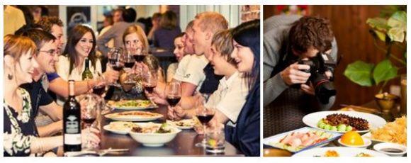 die generation y millennials in deinem restaurant menschen beim essen