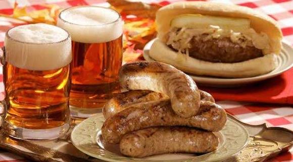 gastronomie marketing ideen zum tag der deutschen einheit bier und wurst sauerkraut