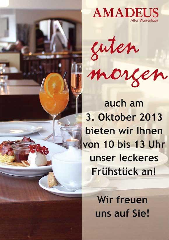 gastronomie marketing ideen zum tag der deutschen einheit flugblatt angebot