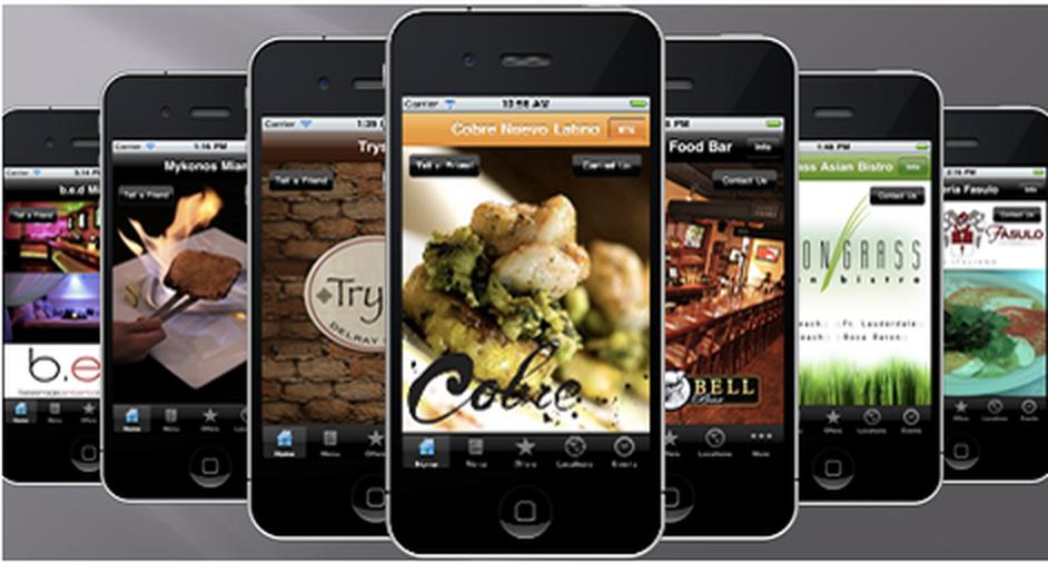 Mobile Gastro app für Restaurants