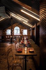 restaurant design ideen beispiel 1 dach