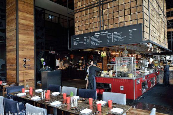 restaurant design ideen beispiel innenraum