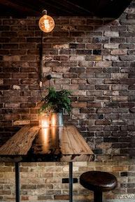 restaurant design ideen detail lampe