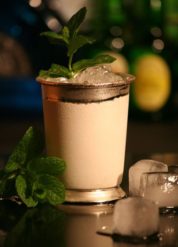 top sommer cocktails 2014 mint julep serviert